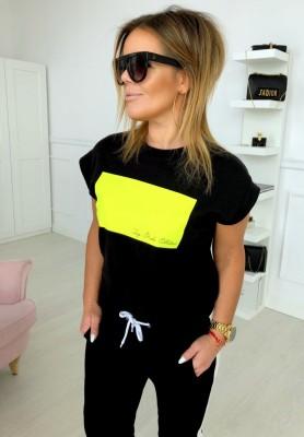 T-shirt Pocket Black