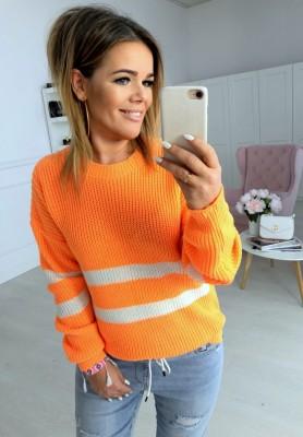 Sweter Mussi Pomarańcz
