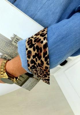 8257 Koszula Jeans Panther