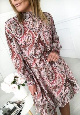 Sukienka Deneris Puder