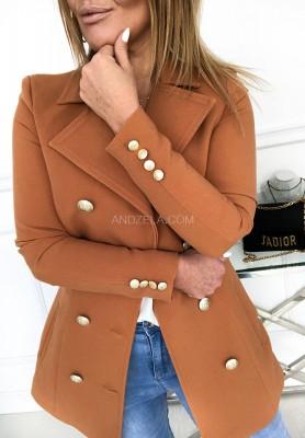 Płaszcz Elton Camel