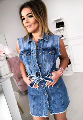 1027 Sukienka Jeans Ali