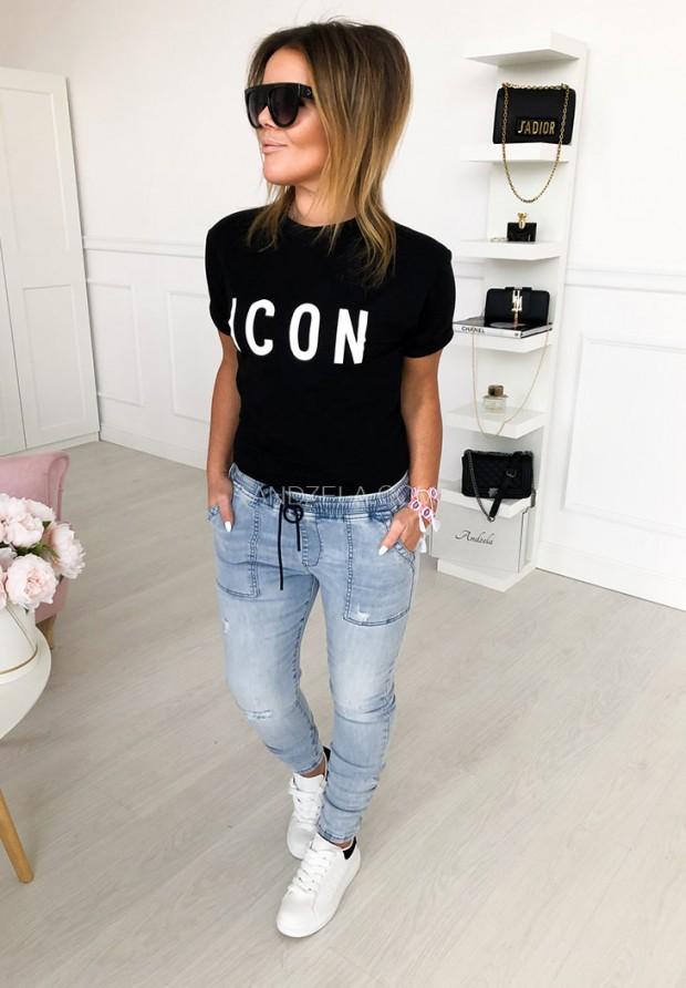 T-shirt Icon Black