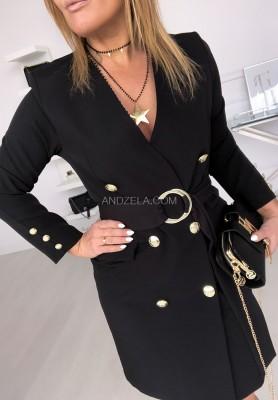 Sukienka Fiorella Czarna