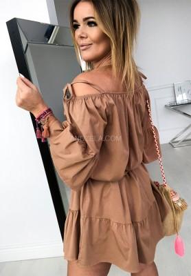 Sukienka Florella Camel