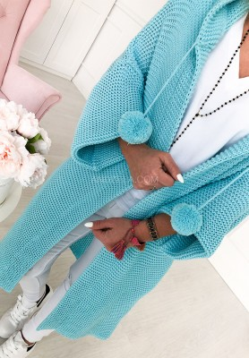 Sweter Kardigan Lucy Blue
