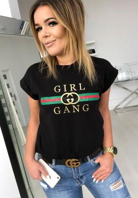 T-shirt Girl Gand Black