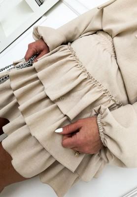 Spódnica Suzi Beż