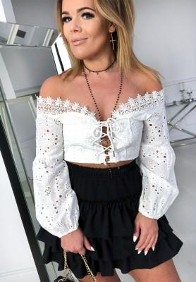 3505  Bluzka Francesca White