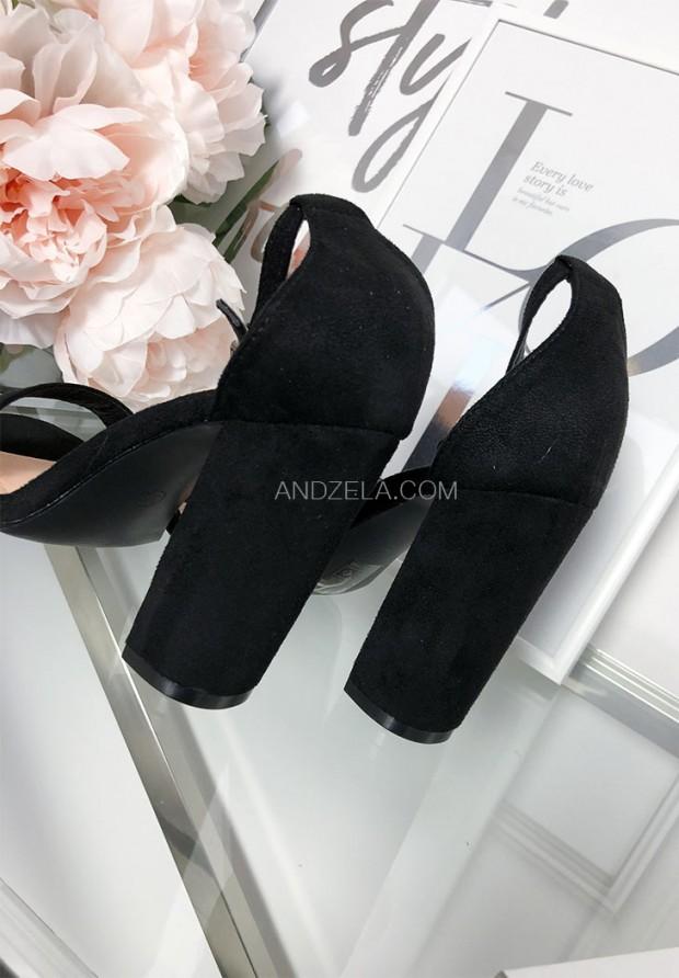 Sandałki Dev Czarne