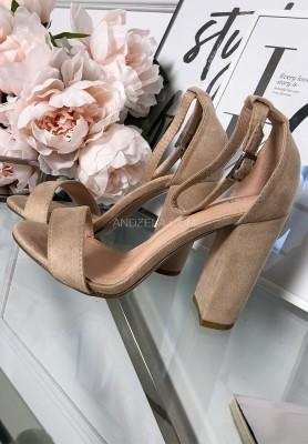 Sandałki Dev Beż