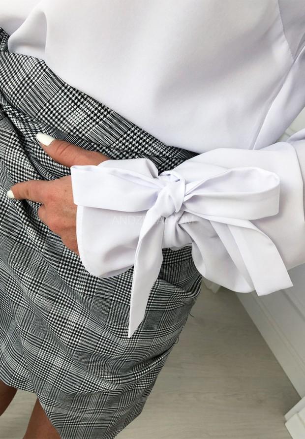 Bluzka Koszula Luiza Biała