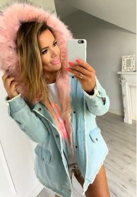 Kurtka Sweet Jeans Pink