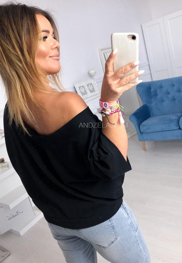 Bluza Smile Black