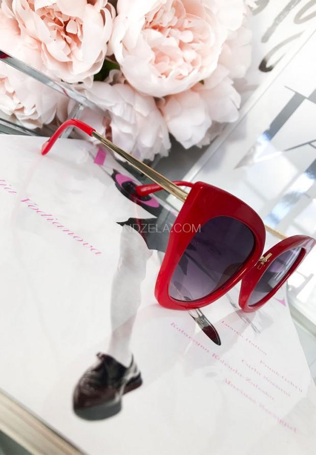 Okulary Cat Red
