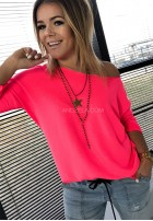 Bluzka Horta Neon Róż