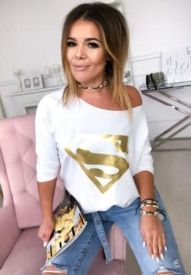 Bluzka Superwomen Biała