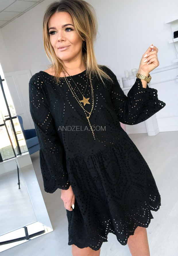 Sukienka Boho Vibes Black