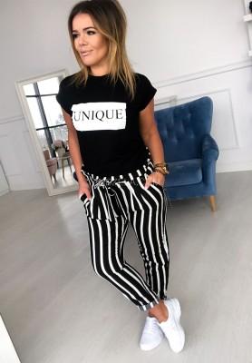 T-shirt Unique Black