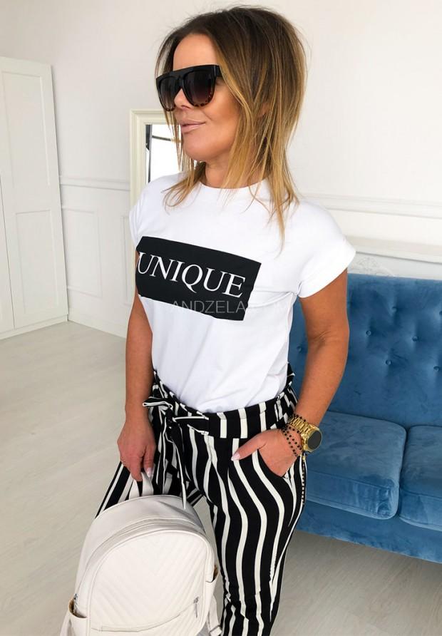T-shirt Unique White