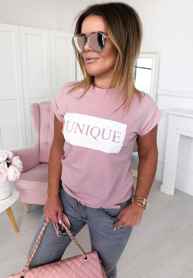 T-shirt Unique Puder