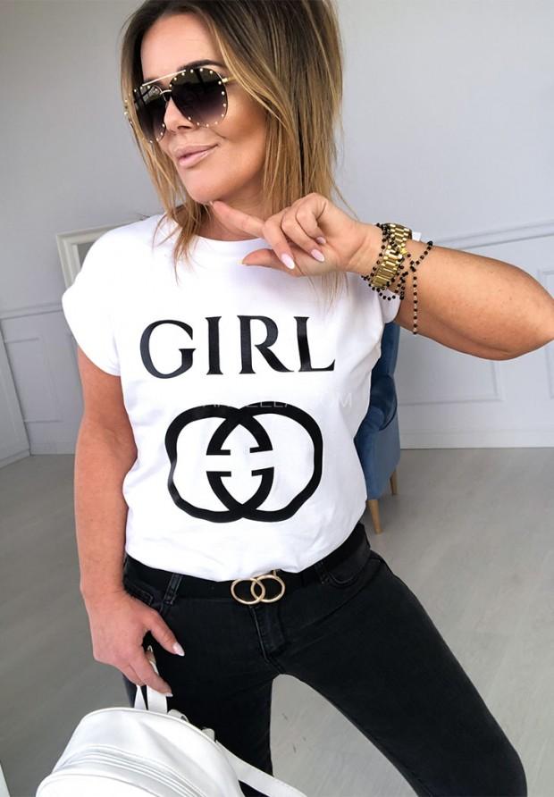 T-shirt Better Girl White