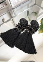 Kolczyki Famous Black