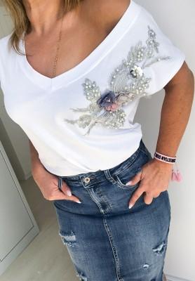 T-shirt Magic Biały