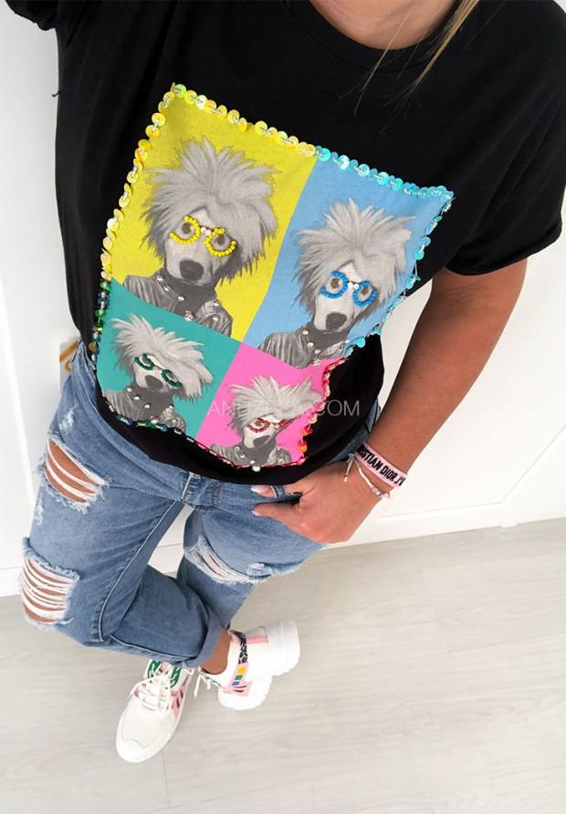 T-shirt Horrid Black