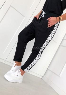 Spodnie Alone Black