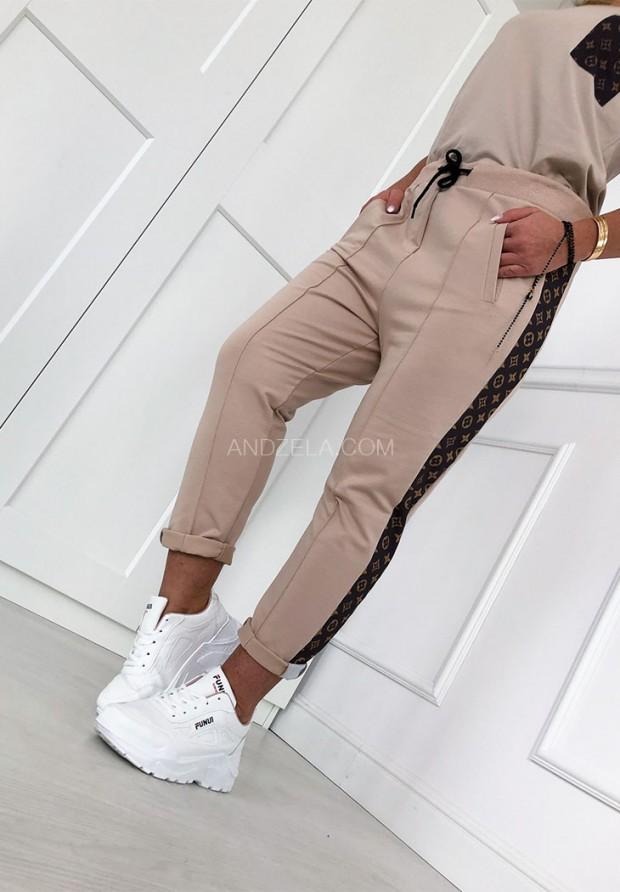 Spodnie Select Nude