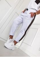 Spodnie Alone White
