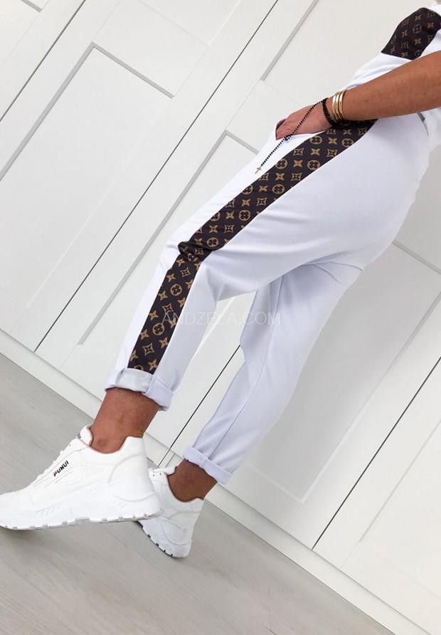 Spodnie Select White