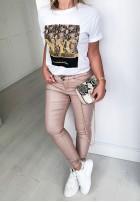 Spodnie Woskowane Isabell  Powder
