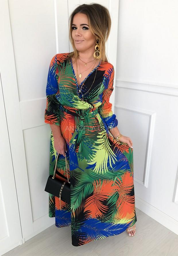 Sukienka Maxi Leaf