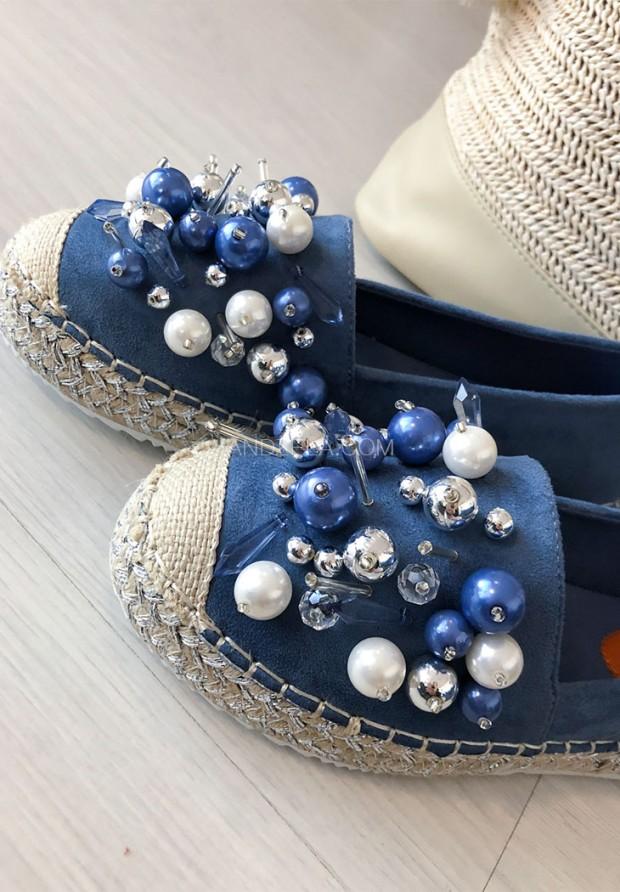 Espadryle Agave Blue