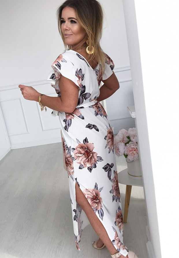 Sukienka Maxi Aurelia Biała