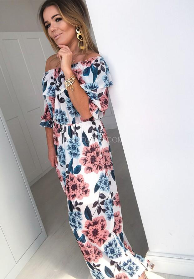 Sukienka Maxi Gotte White