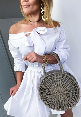 Sukienka Briliant Biała