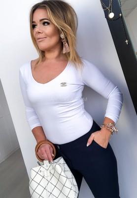 Bluzka Dabbi White