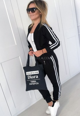 Spodnie Total Girl Black