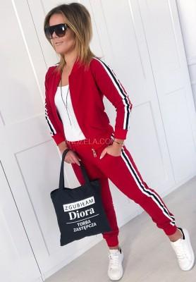 Spodnie Total Girl Red