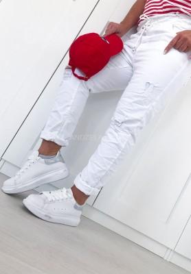 Spodnie Sparkle White