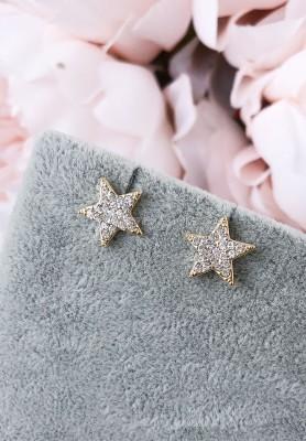 Kolczyki Stars Diamond
