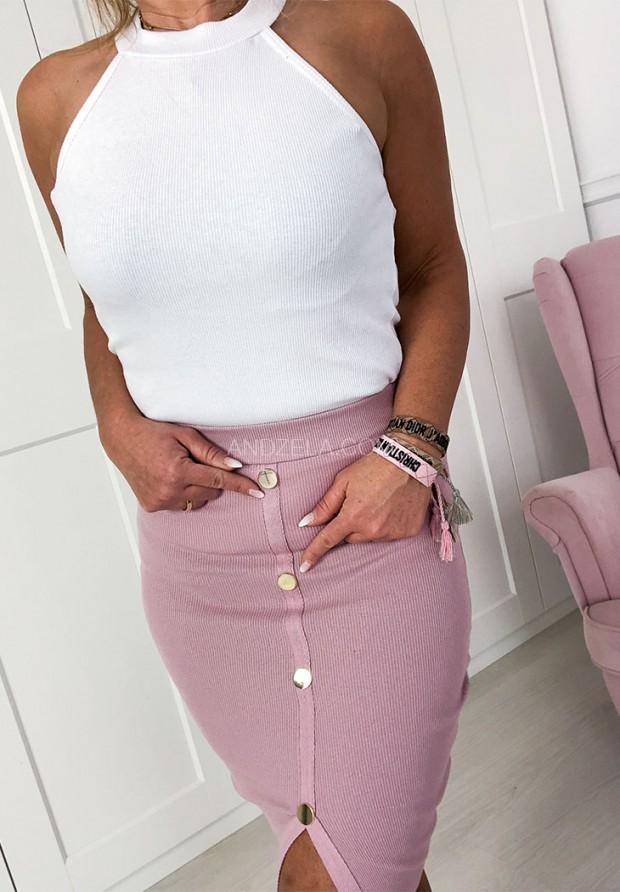 Spódnica Button Puder