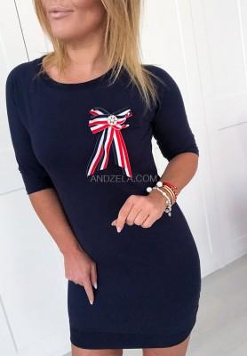 Sukienka Alberi Granat