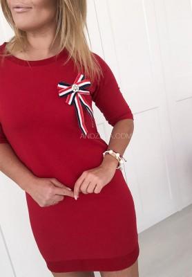 Sukienka Alberi Czerwona