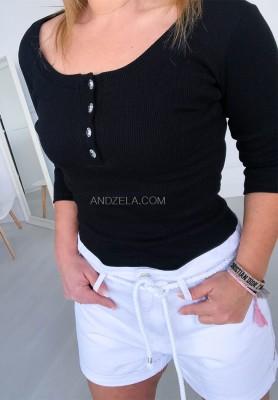 Bluzka Adelia Czarna