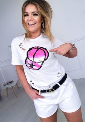 T-shirt Czapka