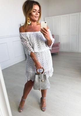 Sukienka Rustic Biała